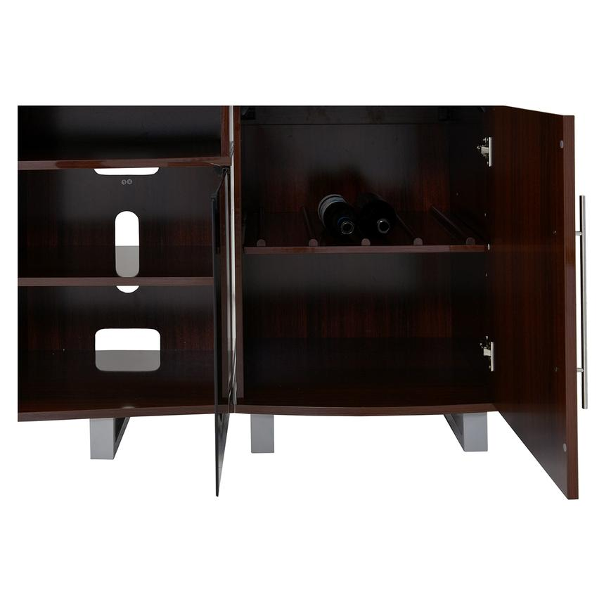 Enterprise Walnut Wall Unit w/Speakers  alternate image, 5 of 6 images.
