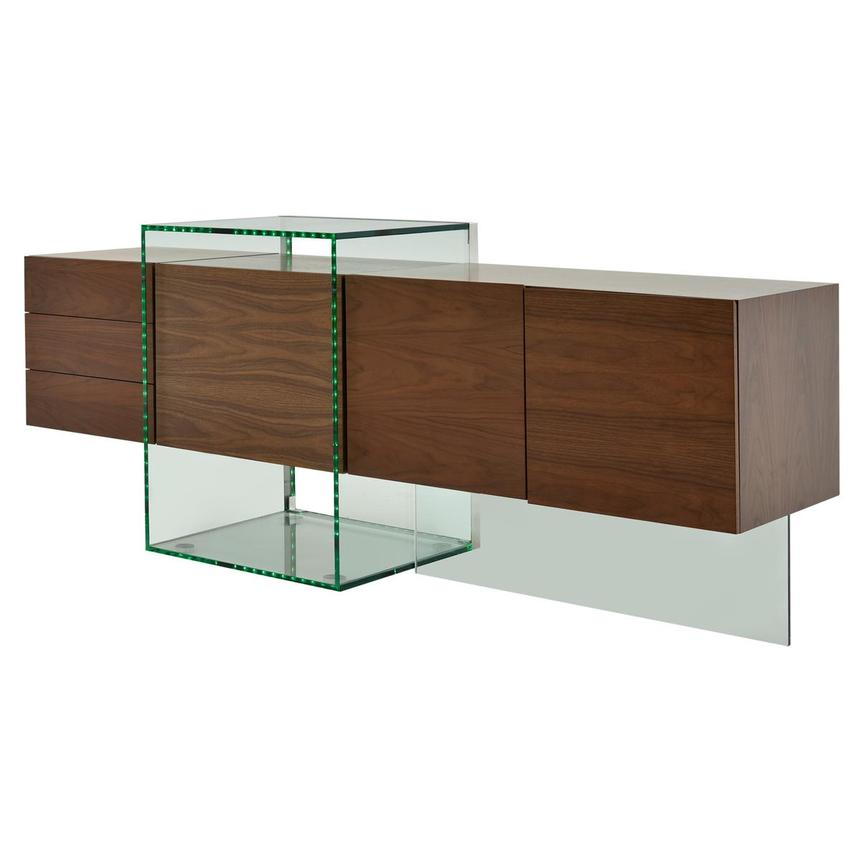 Illusion Walnut Cabinet w/Remote Control  alternate image, 4 of 11 images.