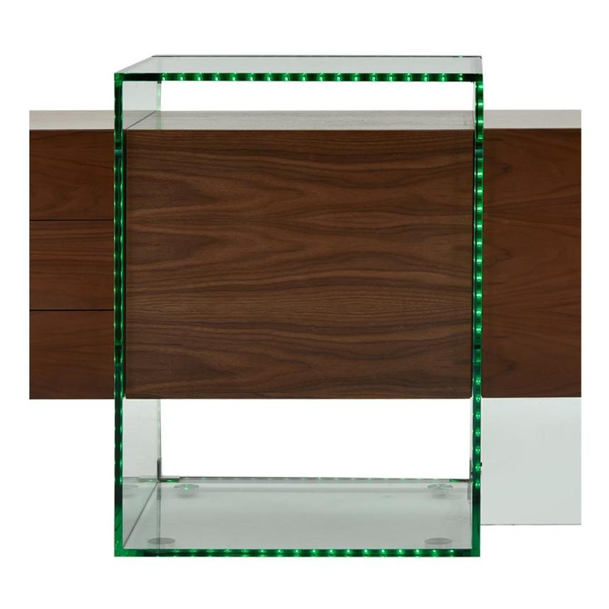 Illusion Walnut Cabinet w/Remote Control  alternate image, 9 of 11 images.