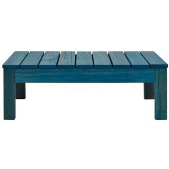 Jane Blue Coffee Table Made in Brazil