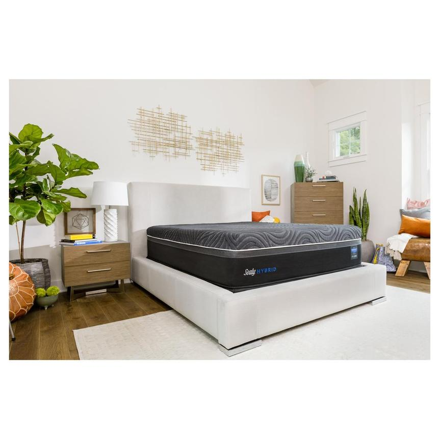 Silver Chill Twin XL Mattress w/Low Foundation by Sealy Posturepedic Hybrid  alternate image, 2 of 6 images.
