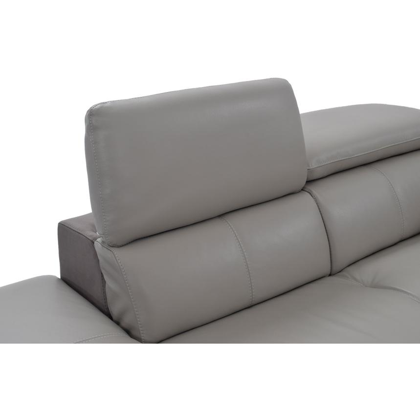 Richardson Power Motion Leather Sofa w/Left Chaise  alternate image, 5 of 8 images.