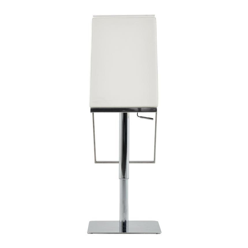 Hyde White Adjustable Stool  alternate image, 4 of 6 images.