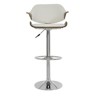 Chia White Adjustable Stool