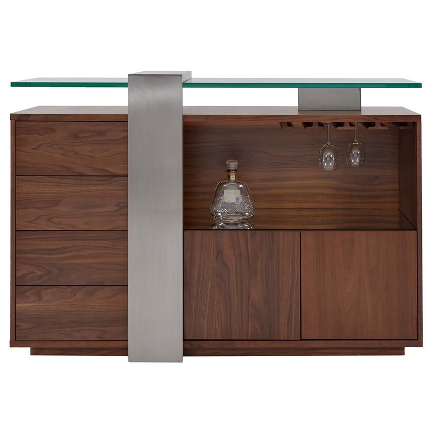 Totem Walnut Bar Cabinet  main image, 1 of 6 images.