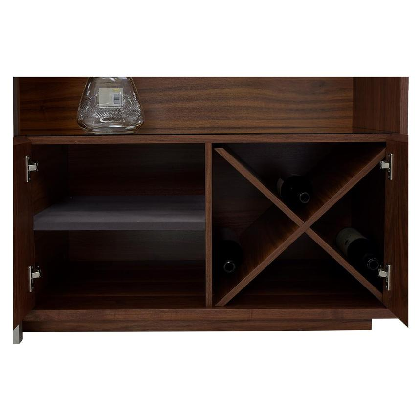 Totem Walnut Bar Cabinet El Dorado Furniture