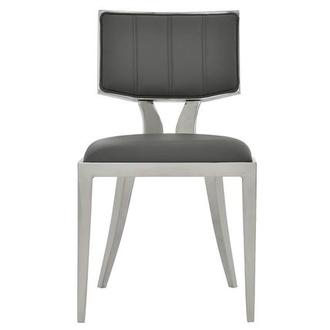 Martina Gray Side Chair
