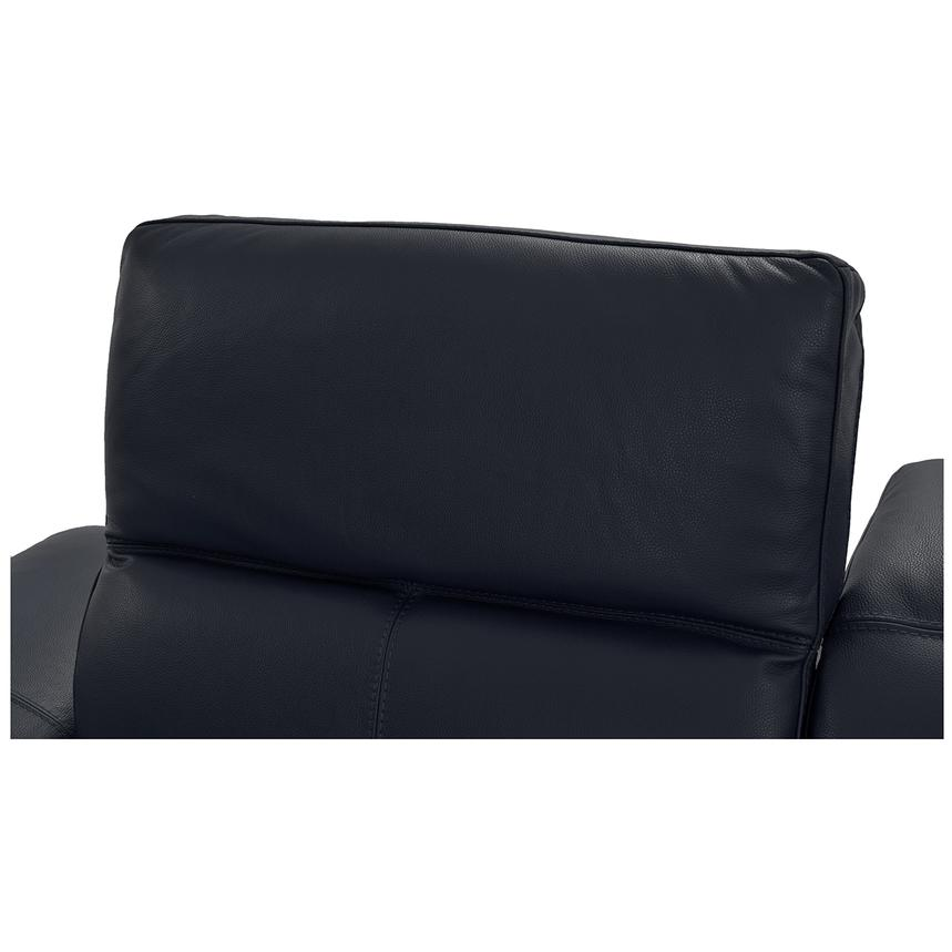 Toronto Dark Gray Power Motion Leather Sofa w/Right Chaise  alternate image, 5 of 9 images.