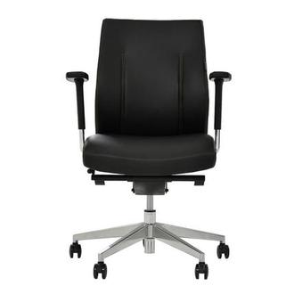 Regulo Black Low Back Desk Chair
