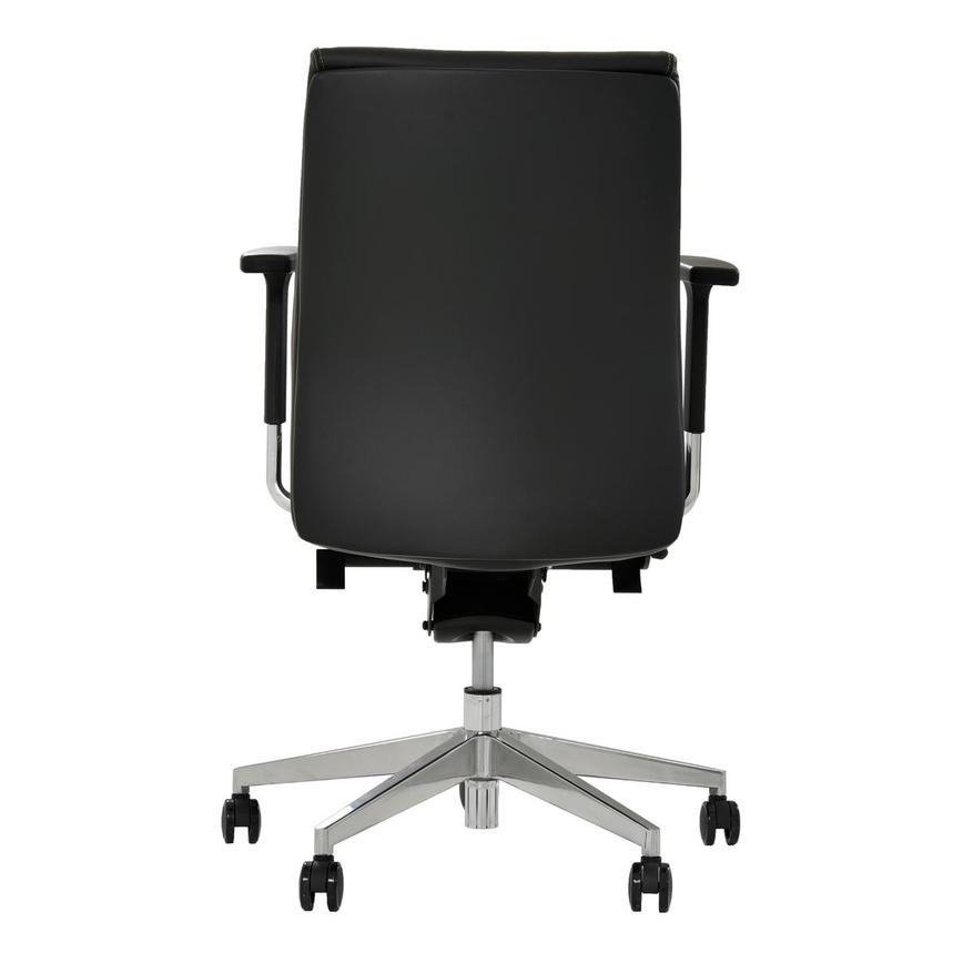 Regulo Black Low Back Desk Chair  alternate image, 5 of 8 images.