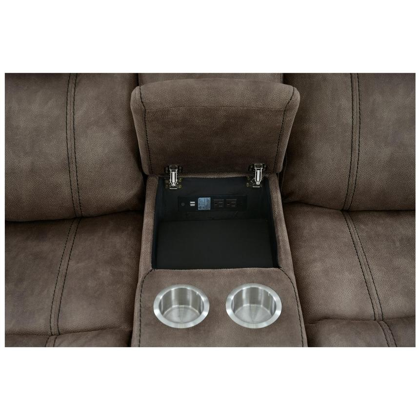Knoxville Power Motion Sofa w/Console  alternate image, 5 of 7 images.