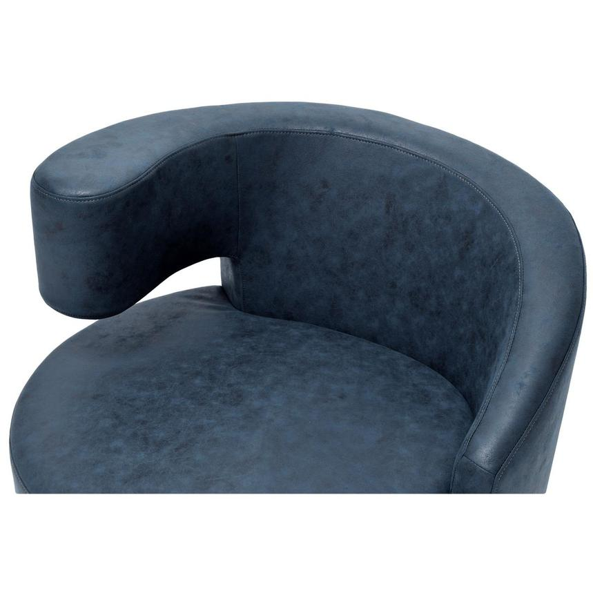Okru Dark Blue Swivel Chair  alternate image, 5 of 6 images.