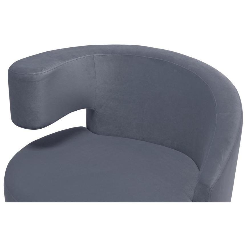 Okru Gray Swivel Chair  alternate image, 5 of 6 images.
