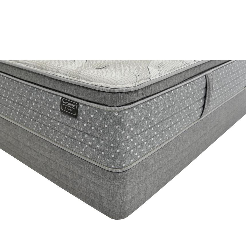 Corvara Queen Mattress w/Low Foundation by Carlo Perazzi  main image, 1 of 4 images.