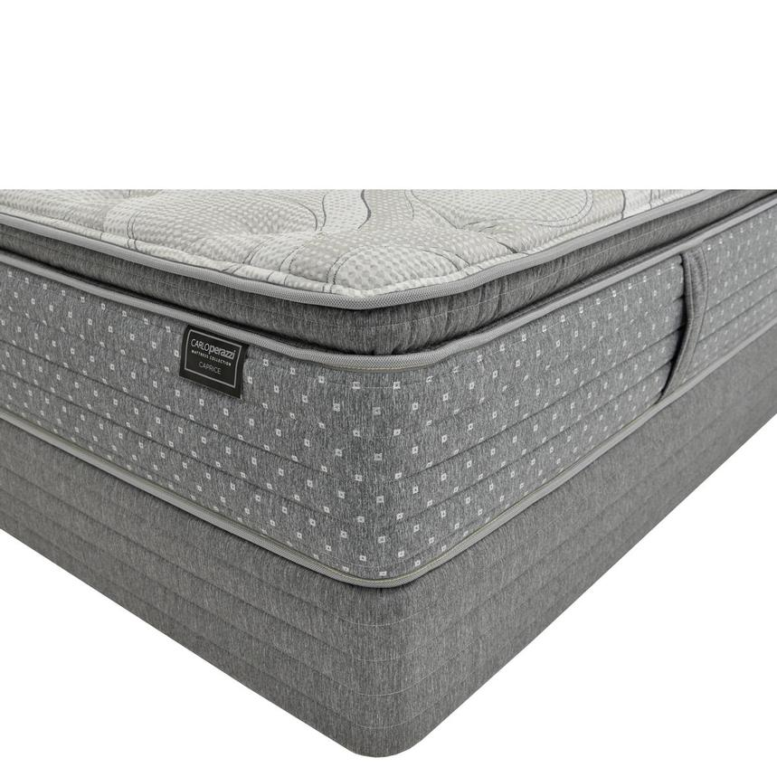 Caprice Queen Mattress w/Low Foundation by Carlo Perazzi  main image, 1 of 4 images.