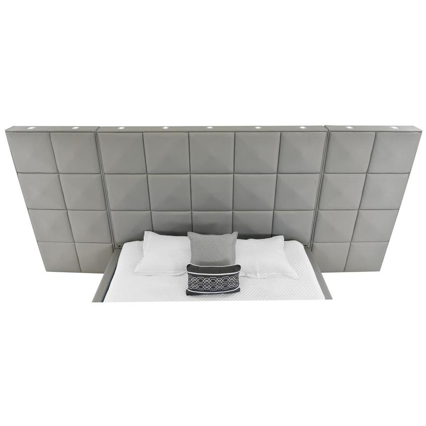 Lux Suite Gray King Platform Bed  alternate image, 4 of 6 images.