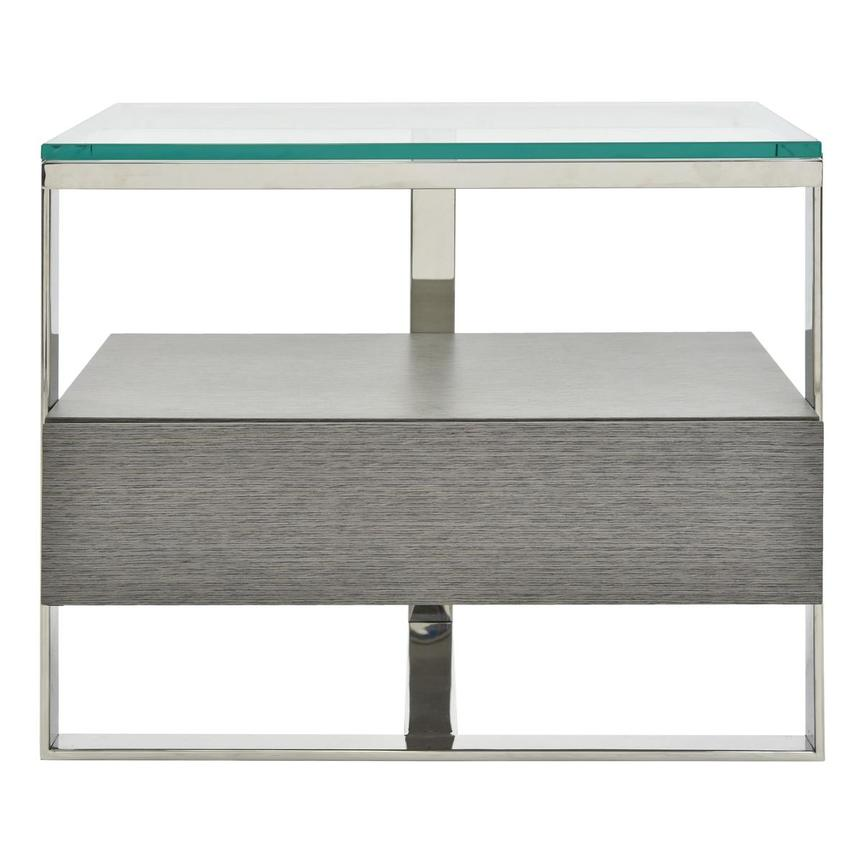 Calypso Matte Gray Side Table  main image, 1 of 7 images.