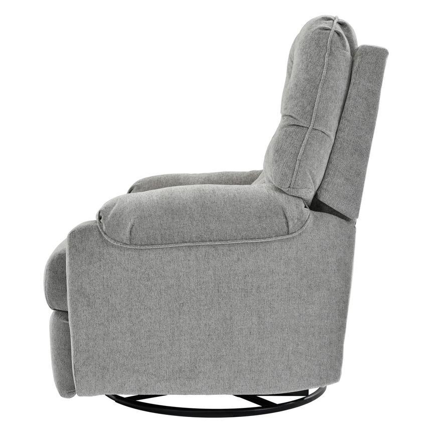 Sondra Gray Swivel Rocker Recliner El Dorado Furniture