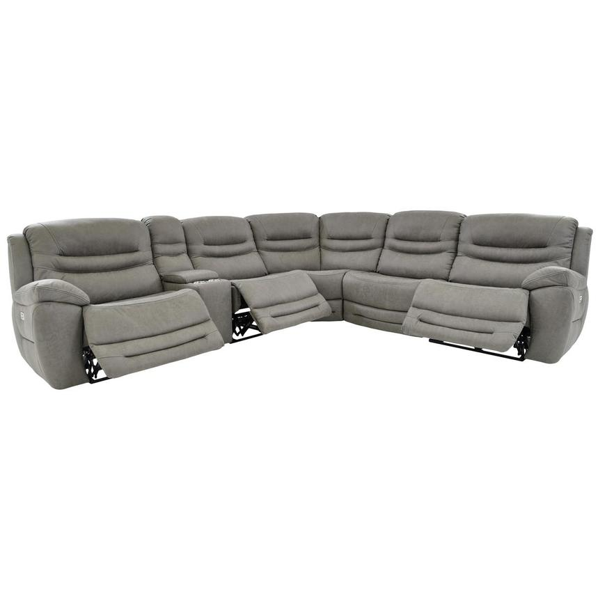 Dan Gray Power Reclining Sectional  alternate image, 3 of 10 images.