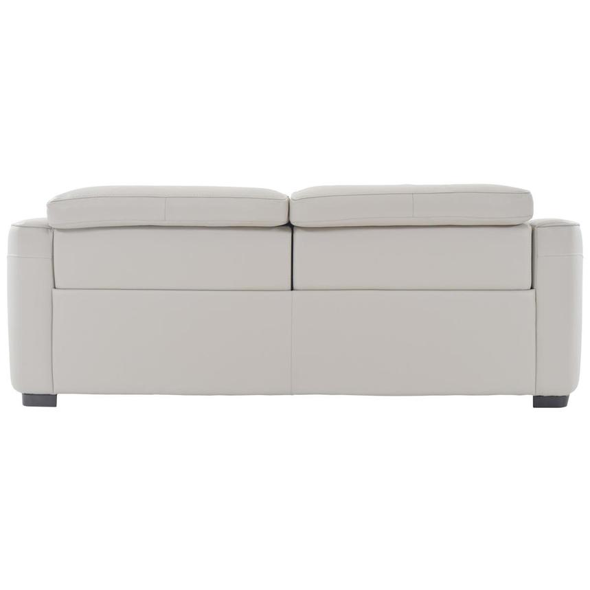 Jay Cream Leather Power Reclining Sofa  alternate image, 4 of 6 images.