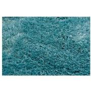 Cosmo Turquoise 8' Round Area Rug  alternate image, 2 of 3 images.