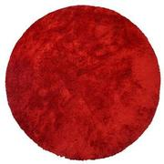 Cosmo Red 8' Round Area Rug  main image, 1 of 3 images.