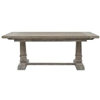 Hudson Gray Extendable Dining Table