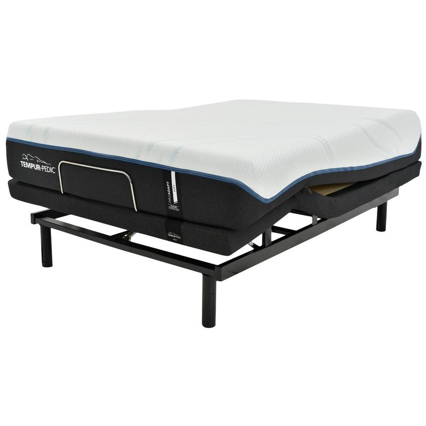ProAdapt Soft Queen Mattress w/Ergo® Extend Powered Base by Tempur-Pedic  alternate image, 4 of 7 images.