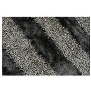 Fusion Gray 8' Round Area Rug  alternate image, 2 of 3 images.