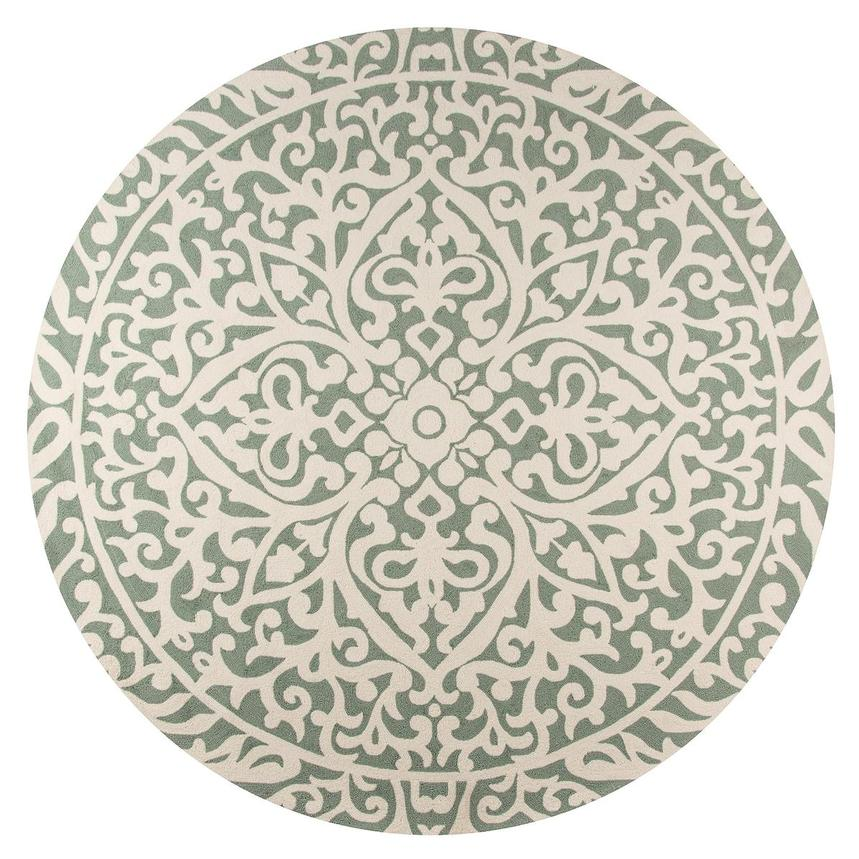 Lanai 9 Round Indoor Outdoor Area Rug Main Image 1 Of 3 Images