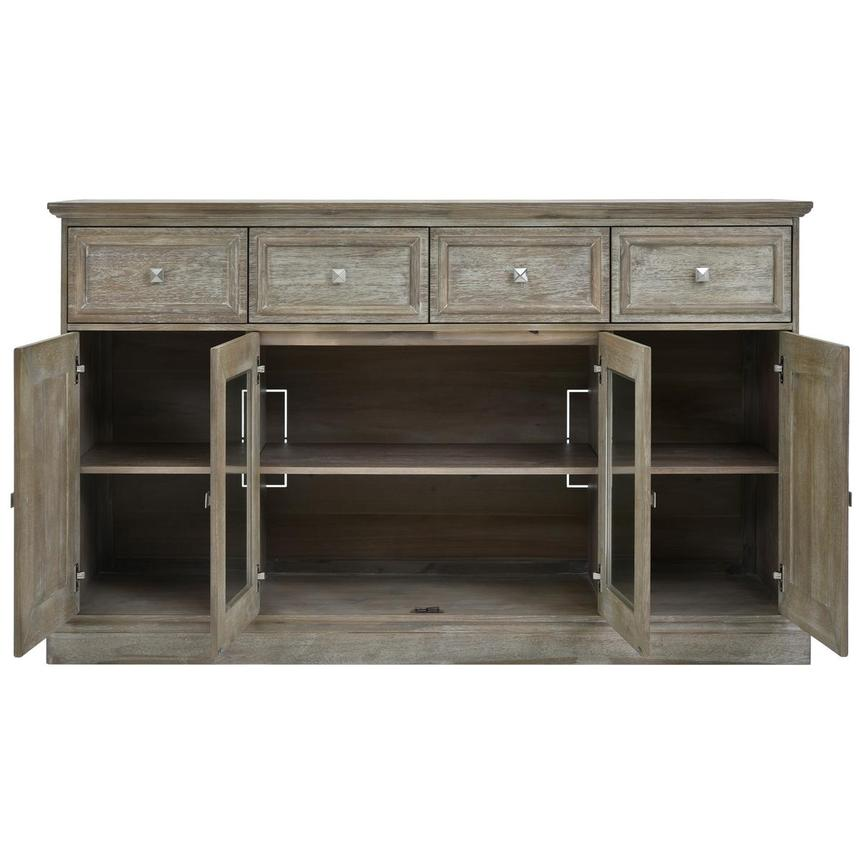 Hudson Gray Sideboard  alternate image, 4 of 7 images.