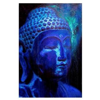 Blue Buddha Acrylic Wall Art
