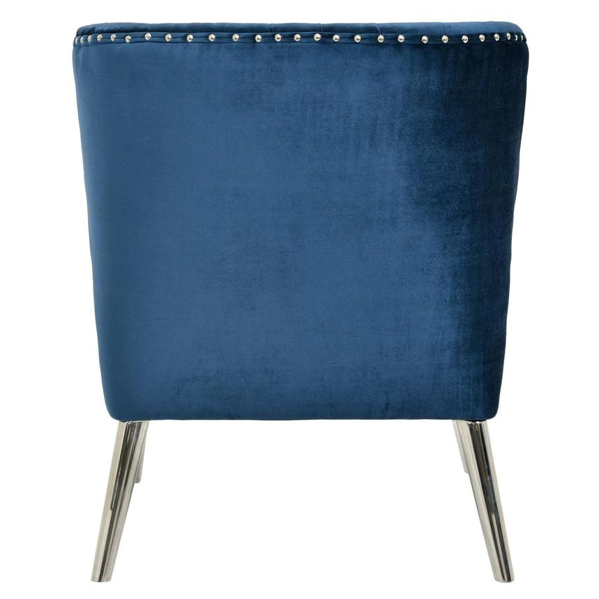 Palermo Blue Accent Chair  alternate image, 4 of 6 images.
