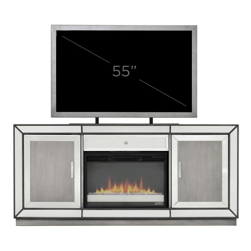 Galena Electric Fireplace w/Remote Control  alternate image, 7 of 7 images.