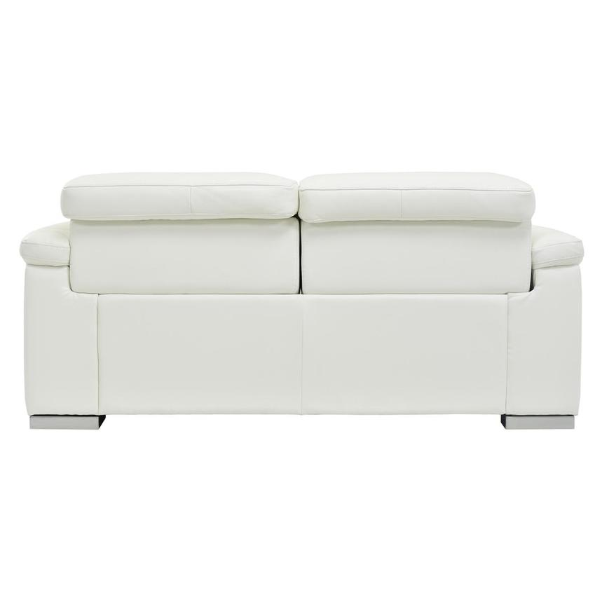Charlie White Power Motion Leather Loveseat  alternate image, 5 of 7 images.
