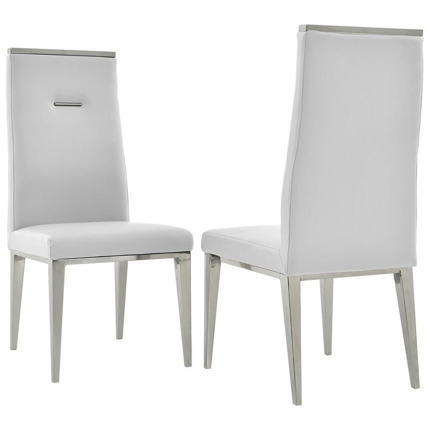Opus/Hyde White 5-Piece Formal Dining Set  alternate image, 9 of 11 images.