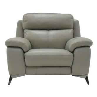 Barry Gray Power Motion Leather Recliner
