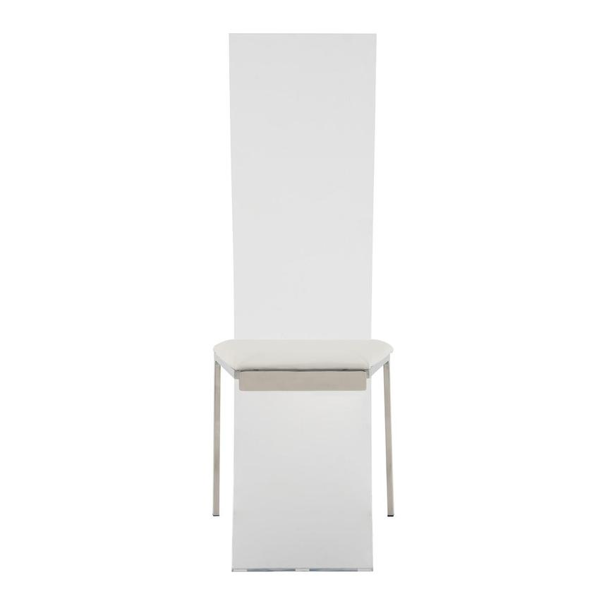 Layra White Side Chair  alternate image, 4 of 7 images.