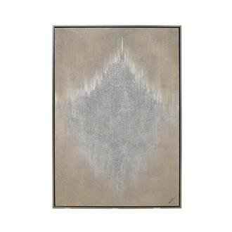 Argent II Canvas Wall Art