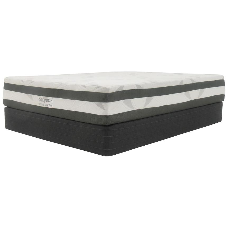 Helens Queen Memory Foam Mattress w/Low Foundation by Carlo Perazzi  alternate image, 2 of 4 images.
