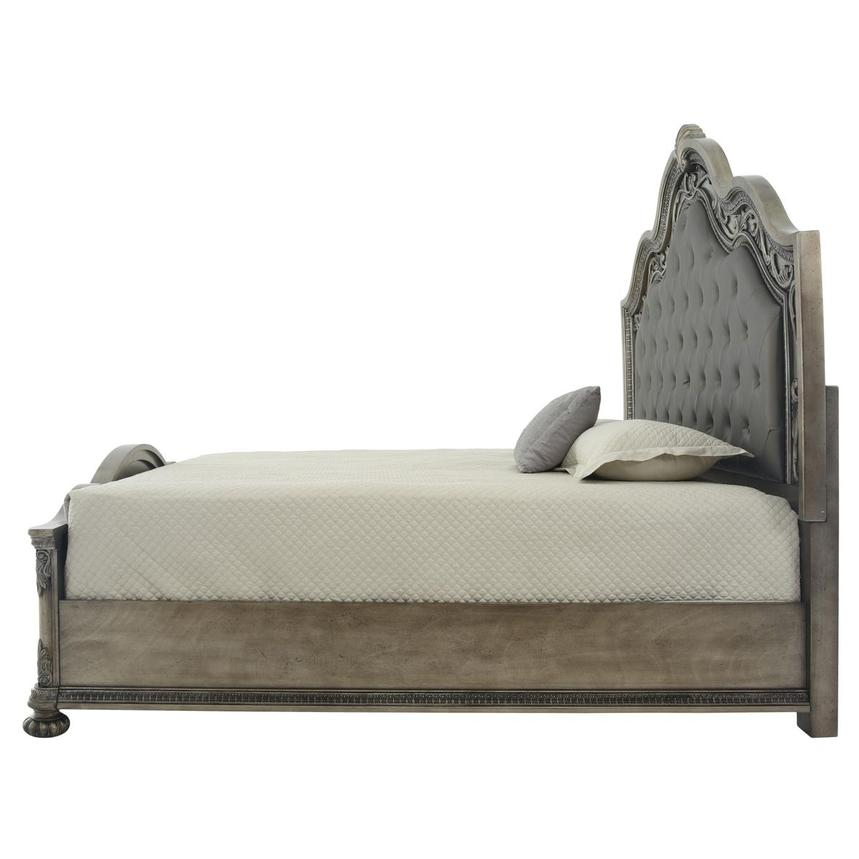Granada Gray Queen Panel Bed  alternate image, 4 of 6 images.
