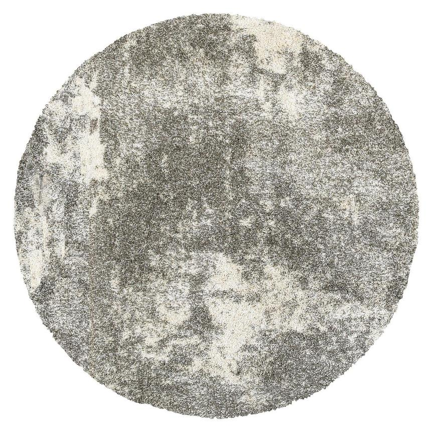 Wolf Moon 8' Round Area Rug  main image, 1 of 2 images.