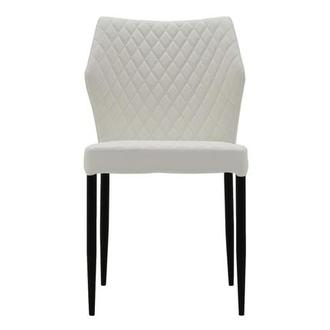 Zari White Side Chair