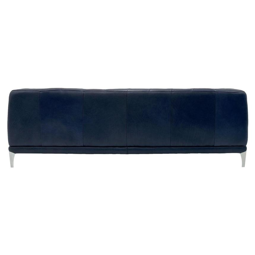 Diana Blue Leather Sofa