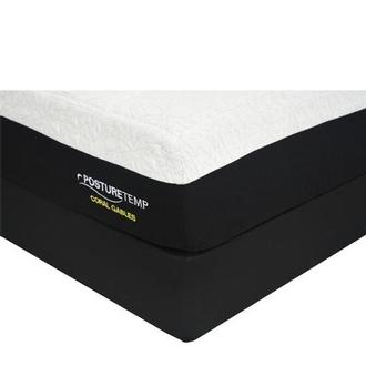 Coral Gables Twin XL Memory Foam Mattress w/Regular Foundation by Sealy Posturepedic