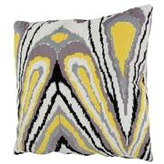 Tutti Frutti Yellow Accent Pillow  alternate image, 2 of 3 images.