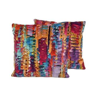 Tutti Frutti Multi Two Accent Pillows
