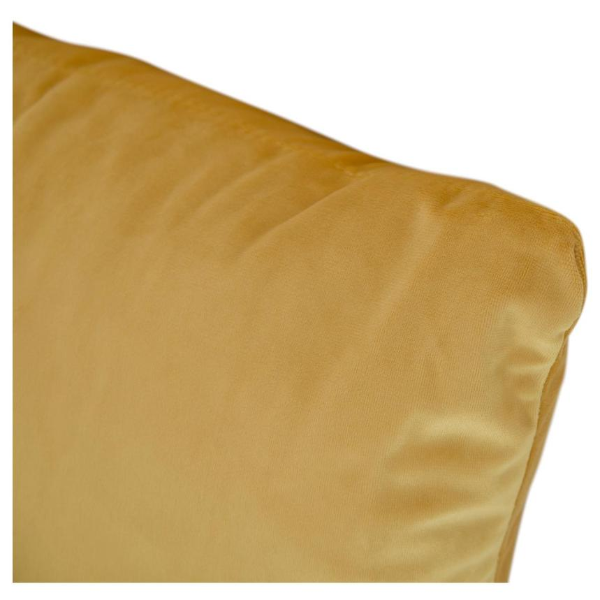 Okru Dark Yellow Swivel Chair w/2 Pillows  alternate image, 10 of 11 images.