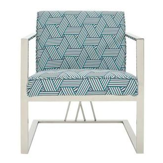 Fairmont Blue Accent Chair
