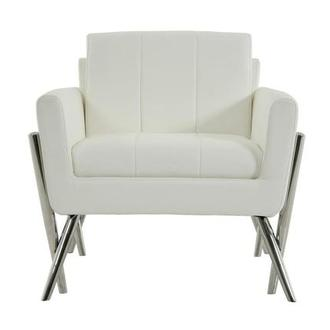 Juliet White Accent Chair